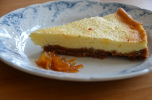 Cheesecake aux kumquats
